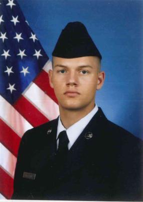 Chris Moore's grandson USAF Tucker Hoffman