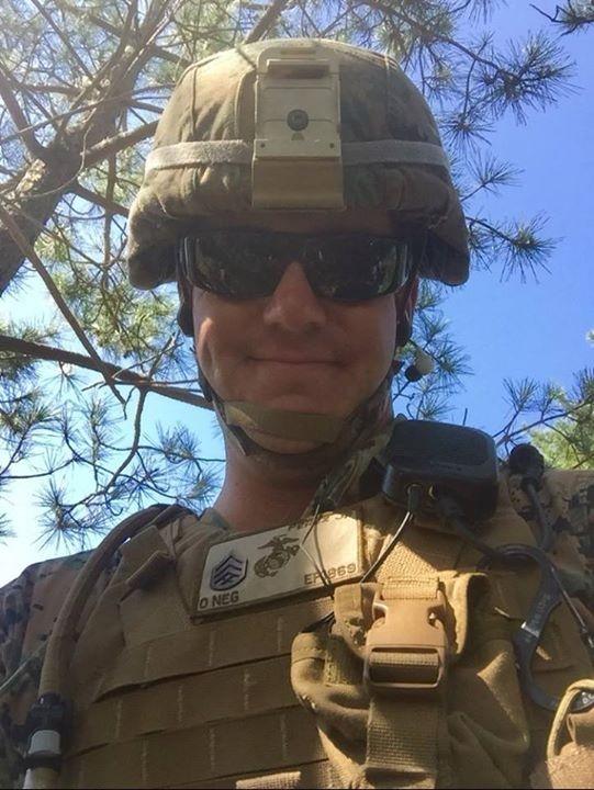 Staff Sargent Rick Perez, USMC Active Duty, Lorrie Brewer's cousin