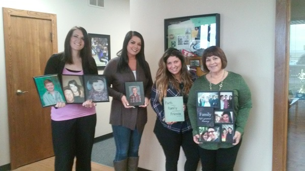 Left to right: Kim, Sales Assistant; Brittany, Implementations Specialist; Karla, Support Specialist; Lynette, Support Supervisor.