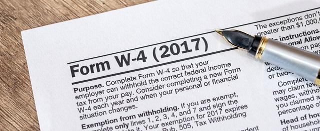 Irs Delays New W4 Form Southwestern Payroll