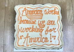 National Payroll Week cake