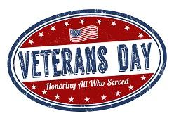 bank closings, veterans day, payroll
